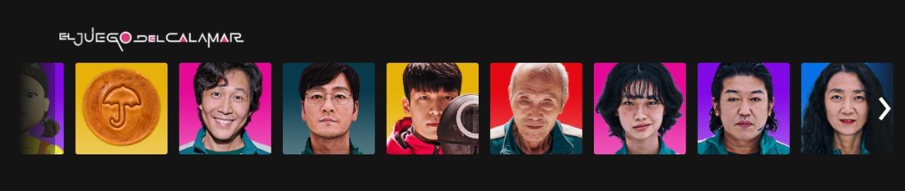 Netflix. ¿Cómo poner un avatar de El juego del calamar?