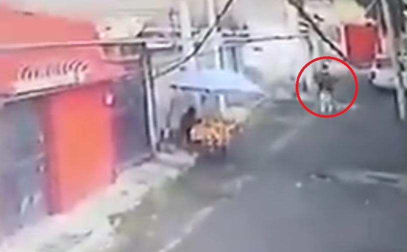 Edomex. Captan robo a tamalera en Cuautitlán Izcalli |VIDEO