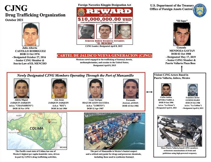 Otros operativos contra El Mencho y el CJNG