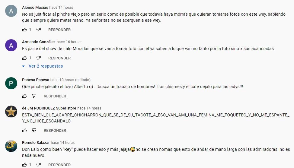 Tunden a Lalo Mora por su disculpa tras acosar a fan