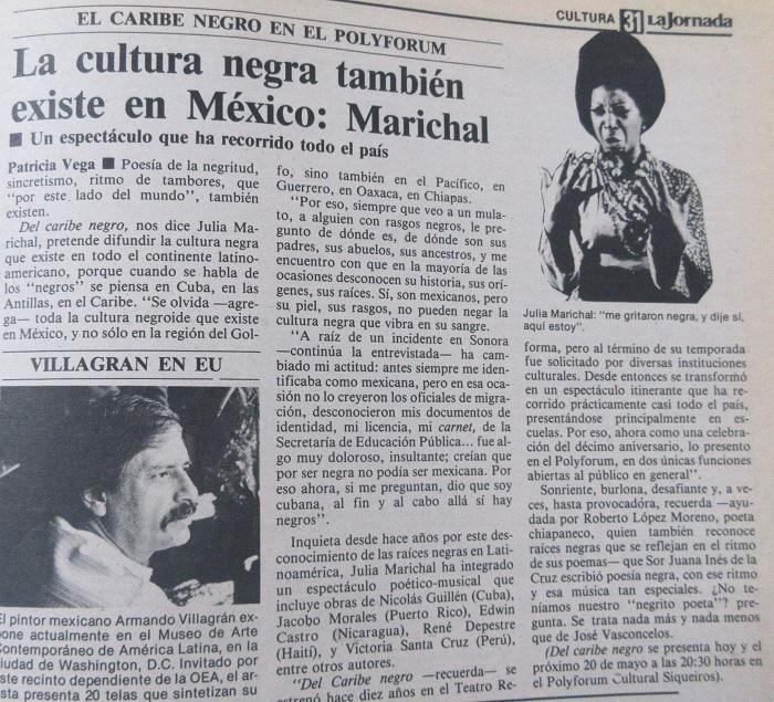 ¿Quién fue Julia Marichal?