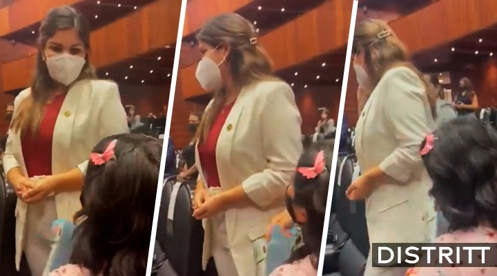 Merary Villegas. Diputada ignora a madre que pidió medicinas