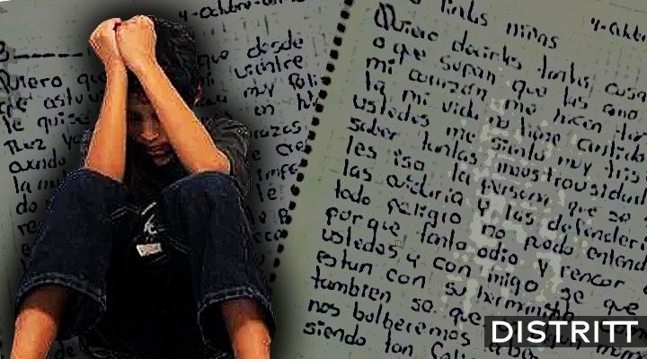 Mujer escribe carta a su hijo feminicida en Edomex