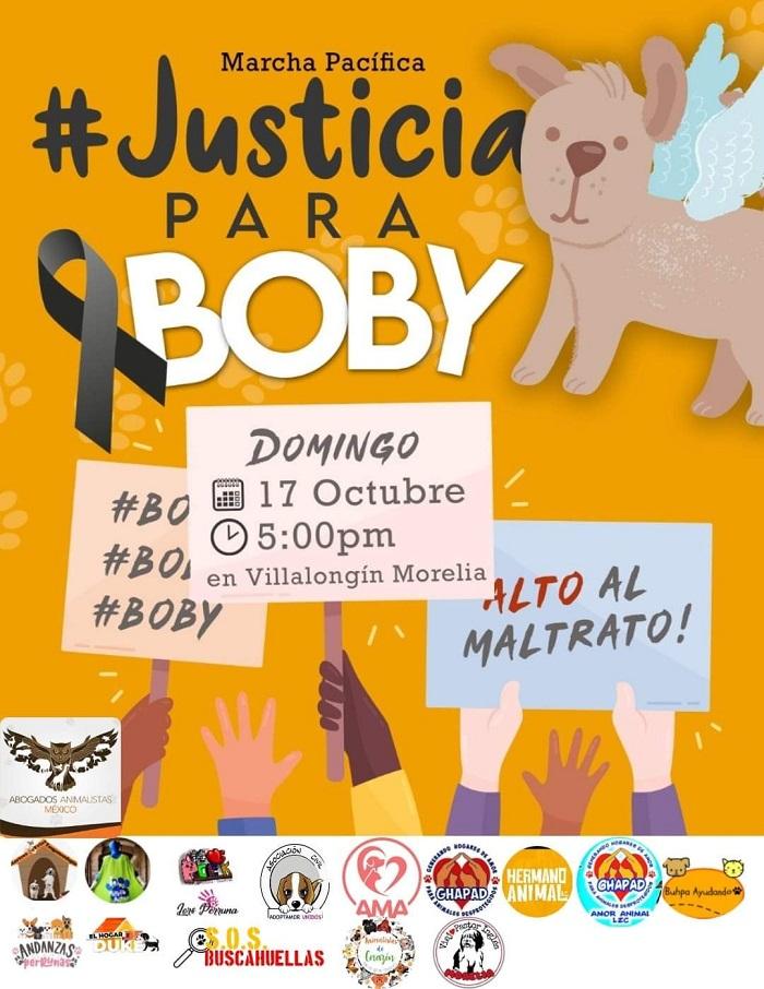 Exigen Justicia para Boby en Michoacán