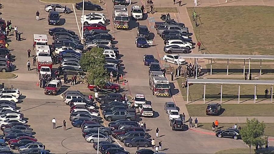 Fotos y videos de tiroteo en Texas