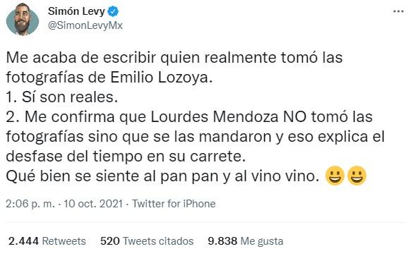 ¿Quién tomó las fotos de Emilio Lozoya?