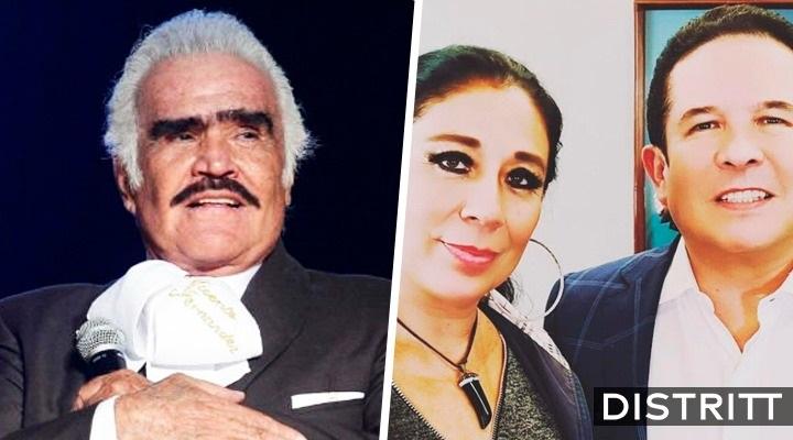 """Vicente Fernández tiene muerte cerebral"", dice periodista"
